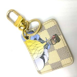 Louis Vuitton Porte cles illustre keyring/bagchain